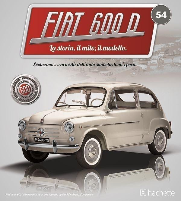 Costruisci la mitica FIAT 600 uscita 54