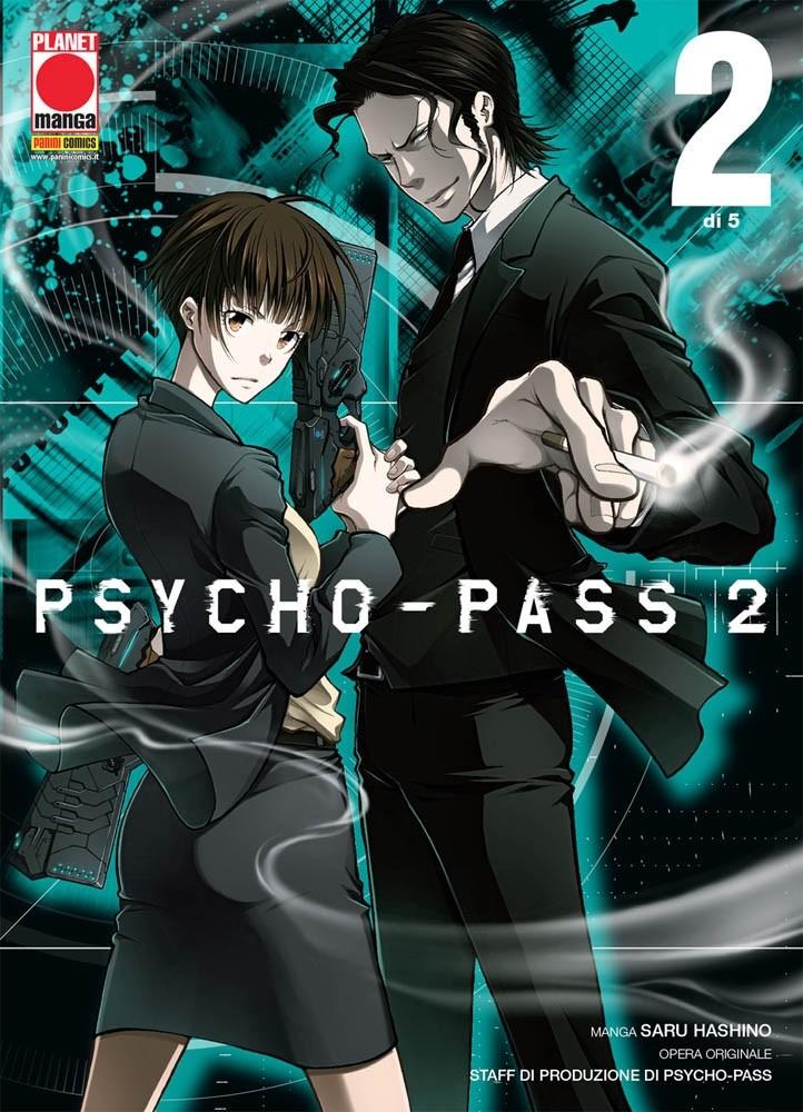 Psycho-Pass 2 (M5) - N° 2 - Psycho-Pass 2 - Manga Life Panini Comics