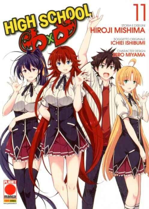 High School Dxd - N° 11 - High School Dxd - Manga Mega Panini Comics