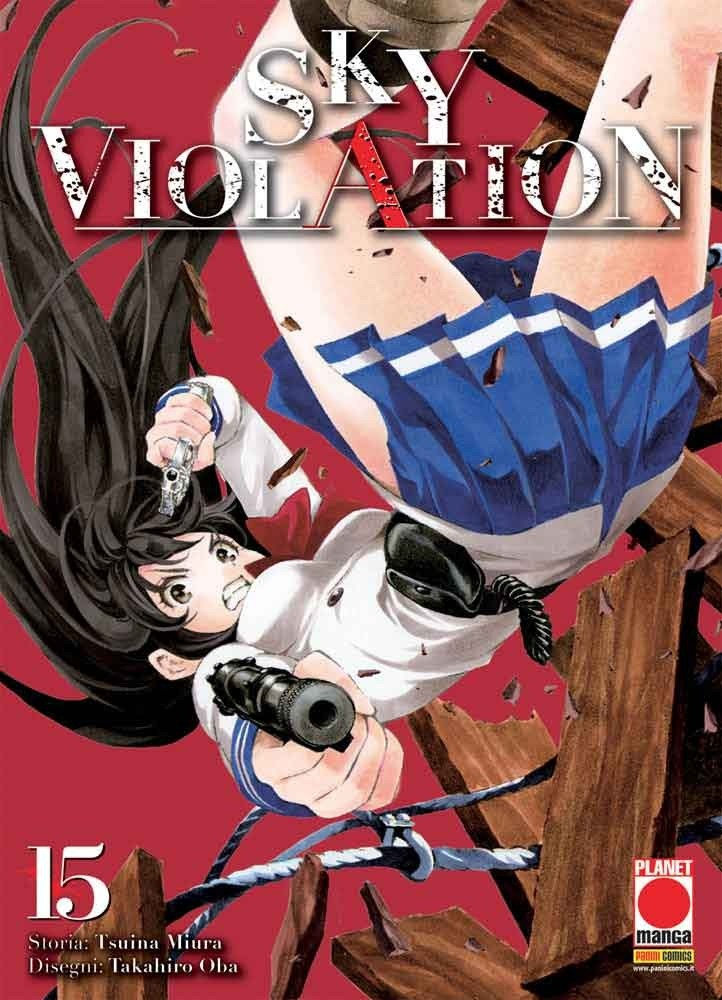 Sky Violation - N° 15 - Sky Violation - Manga Drive Panini Comics