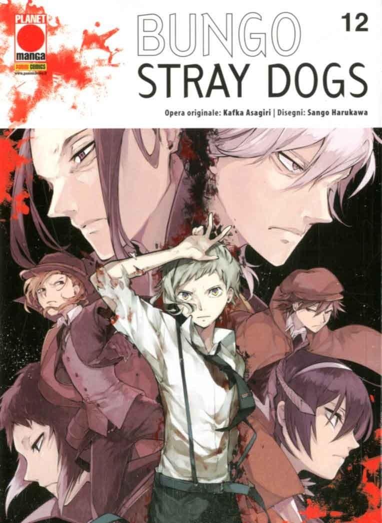 Bungo Stray Dogs - N° 12 - Bungo Stray Dogs - Manga Run Panini Comics