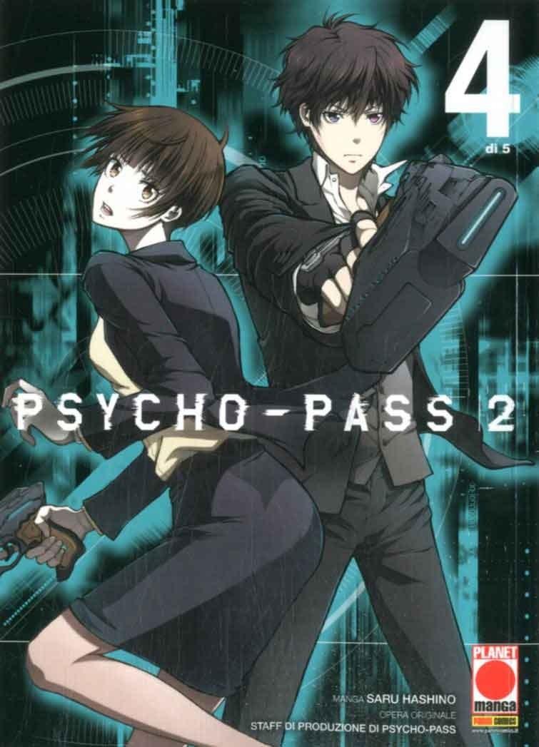 Psycho-Pass 2 (M5) - N° 4 - Psycho-Pass 2 (M5) - Manga Life Panini Comics