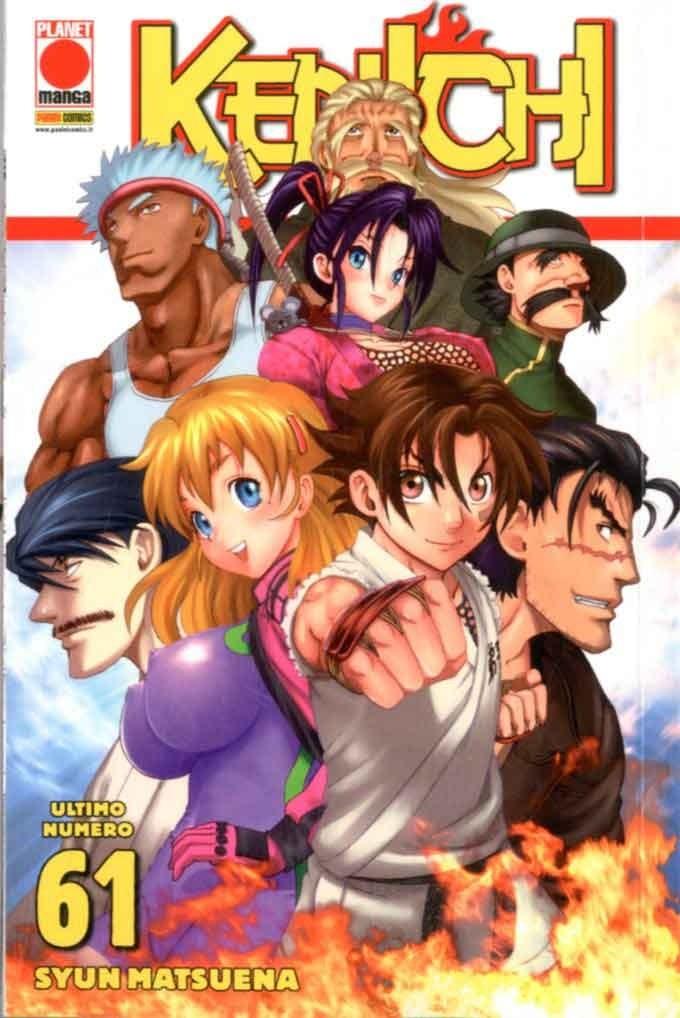 Kenichi - N° 61 - Kenichi - Planet Action Panini Comics