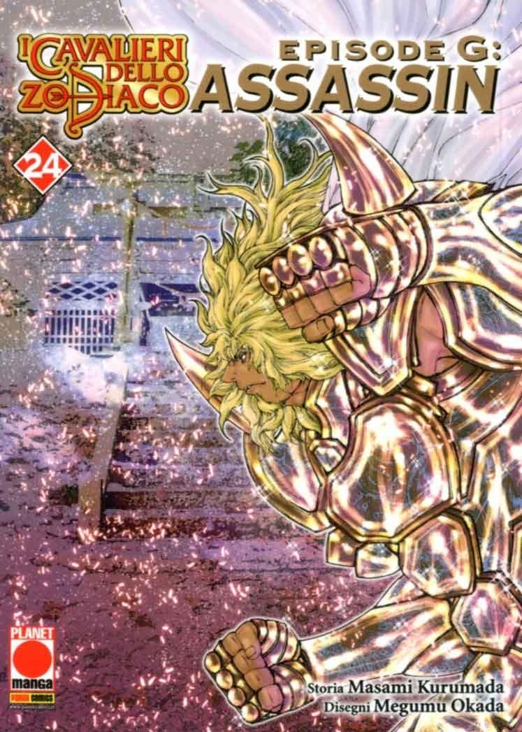 Cavalieri Zod. Ep. G Assassin - N° 24 - Cavalieri Zod. Ep. G Assassin - Planet Manga Presenta Panini Comics