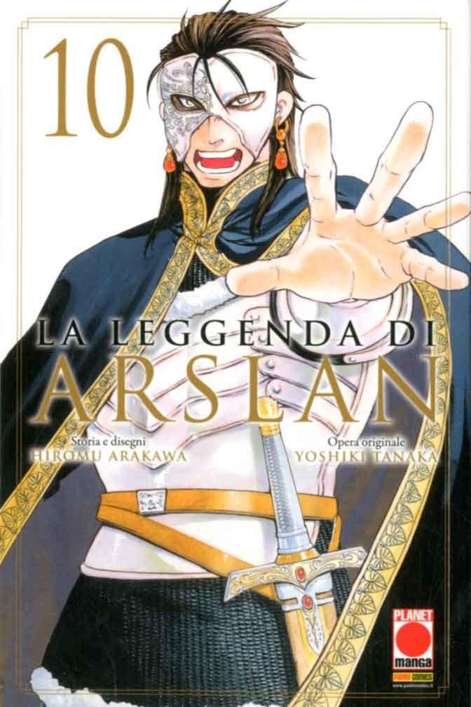 Leggenda Di Arslan - N° 10 - Leggenda Di Arslan - Senki Panini Comics