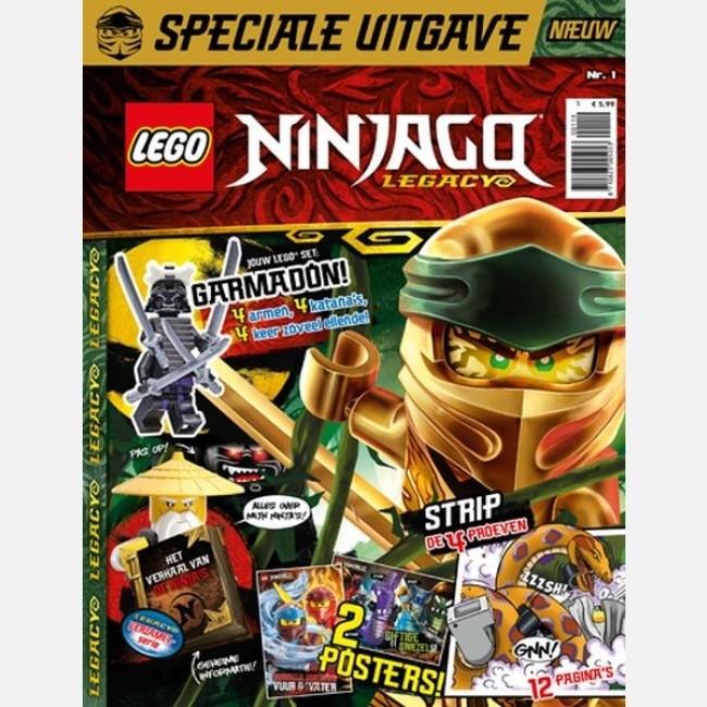 Edizione Italiana Panini Blocks Minifigure Rivista LEGO NINJAGO N° 11