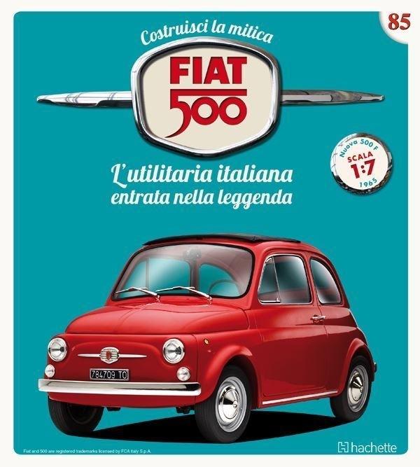 Costruisci la mitica FIAT 500 2^ edizione uscita 85