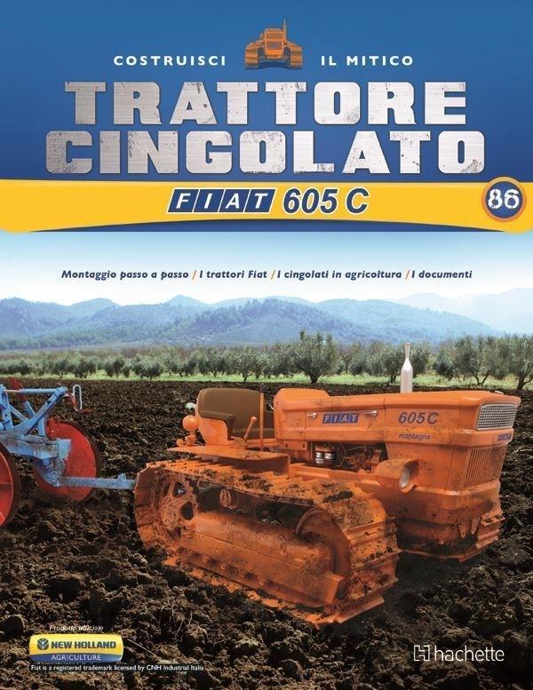 Costruisci il Trattore FIAT 605 C 2° ed. uscita 86