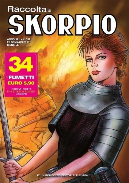 RACCOLTA SKORPIO RACCOLTA N. 0552