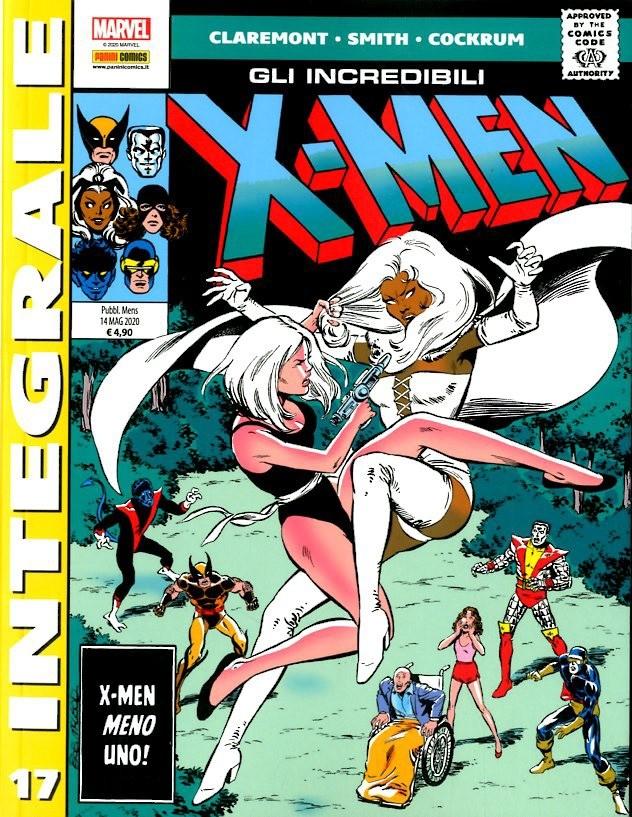 X-Men Di Chris Claremont - N° 17 - Gli Incredibili X-Men - Marvel Integrale Panini Comics