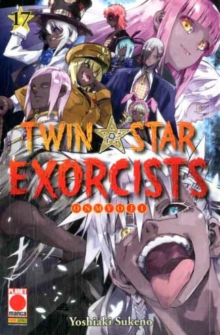Twin Star Exorcists - N° 17 - Manga Rock 24 - Panini Comics