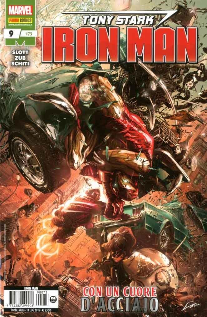 Iron Man - N° 73 - Tony Stark: Iron Man 9 - Panini Comics