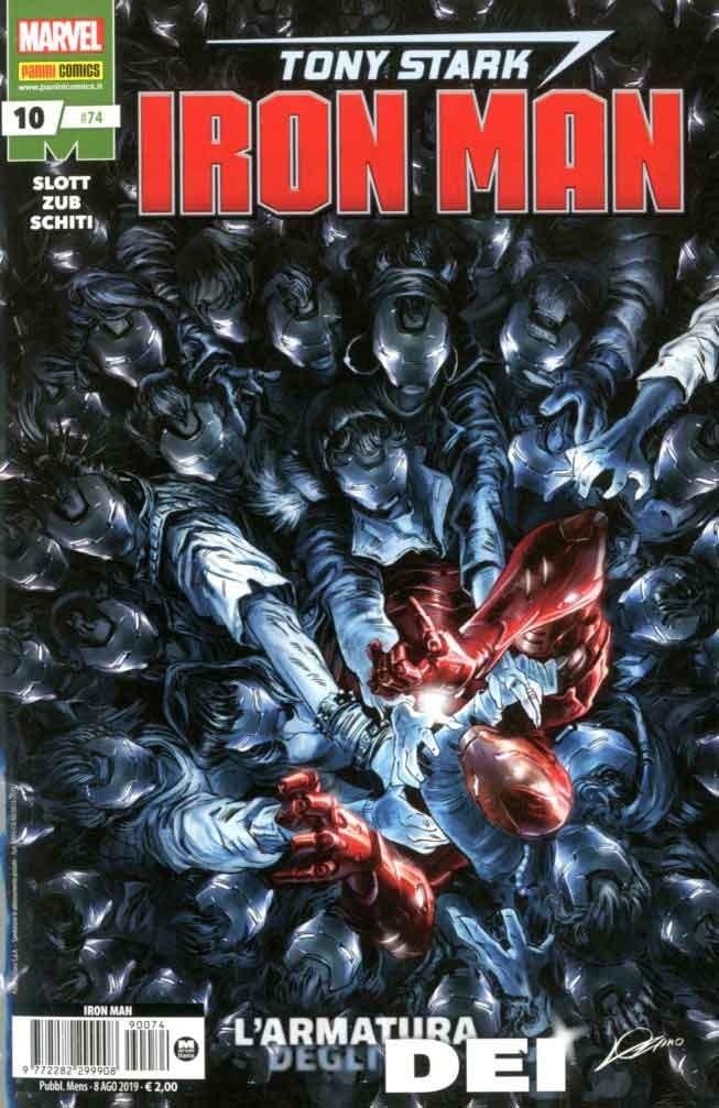 Iron Man - N° 74 - Tony Stark: Iron Man 10 - Panini Comics