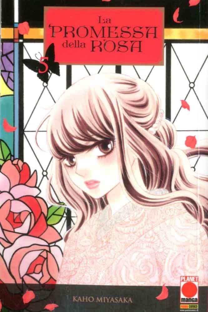 Promessa Della Rosa - N° 5 - La Promessa Della Rosa 5 - Manga Love Panini Comics