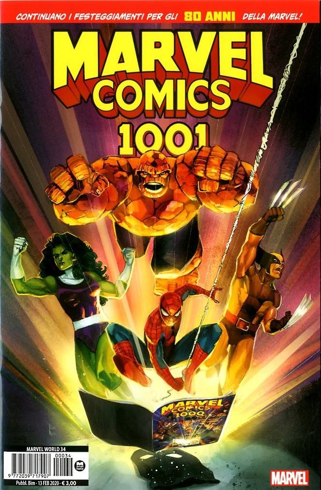 Marvel Comics 1001 - Marvel Comics 1001 - Marvel World Panini Comics