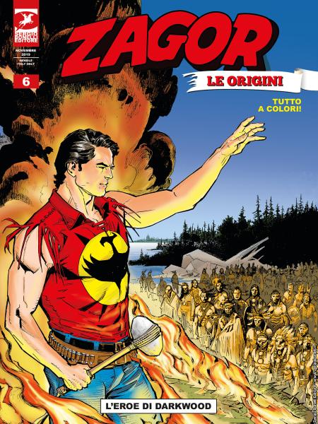 zagor le origini 6 L'eroe di Darkwood