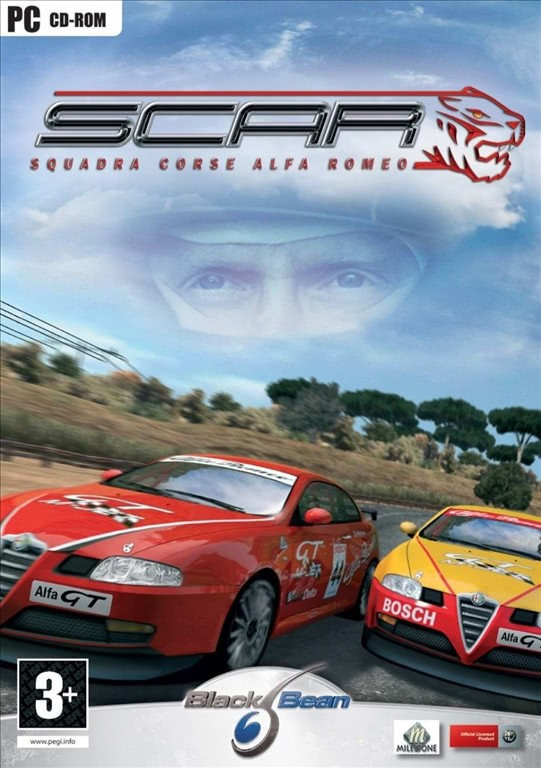 S.C.A.R Squadra Corse Alfa Romeo for Windows PC (PC CD-ROM)