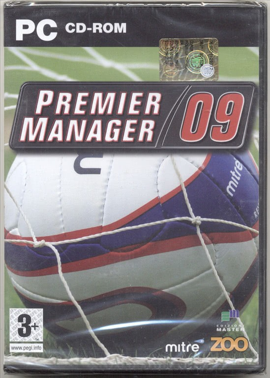 PREMIER MANAGER 09 ITA - GIOCO PC CD-ROM