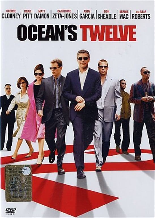 Ocean's Twelve - George Clooney - Film DVD