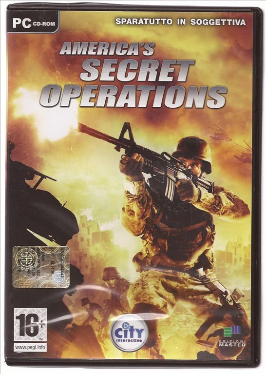 AMERICA'S SECRET OPERATIONS (PC CD-ROM)