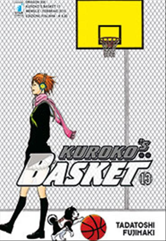 Manga KUROKO'S BASKET  n.13 - ed. STAR COMICS - collana DRAGON 200