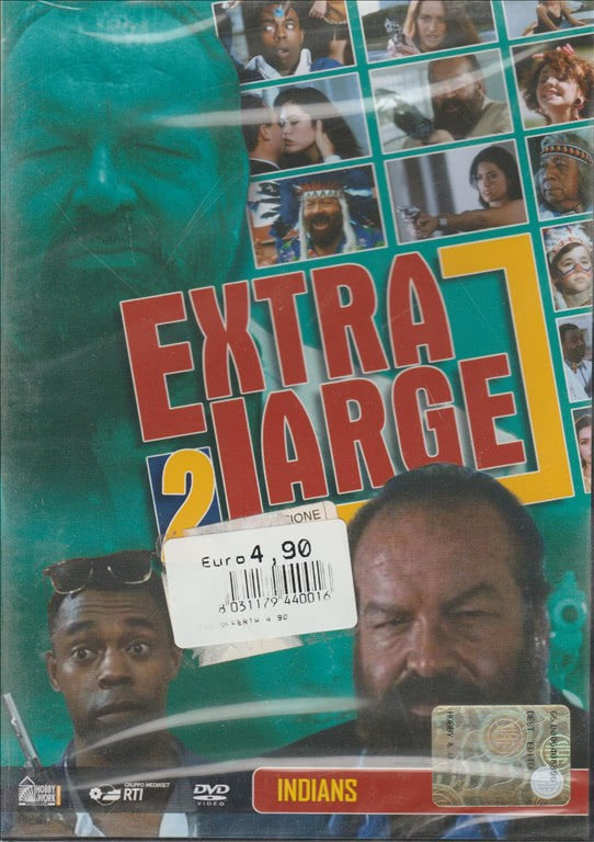 Extra large 2 Collection - DVD #6 - Indians - Bud Spencer