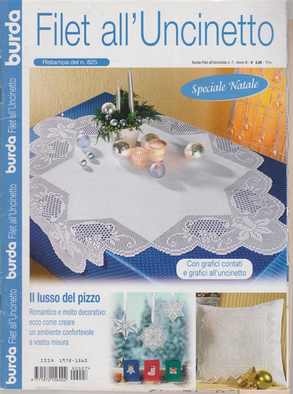 Burda Filet Alluncinetto N 7 Trimestrale Edicola Shop