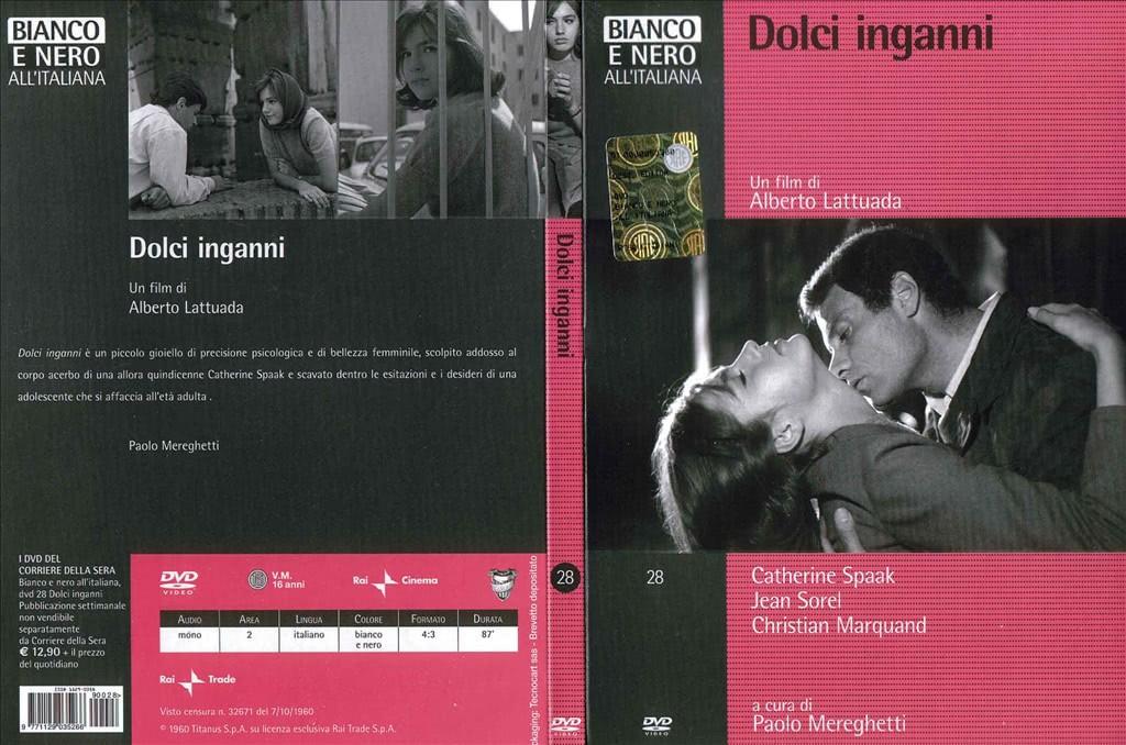 Bianco e Nero all'Italiana - Dolci inganni - un film di Alberto Lattuada DVD