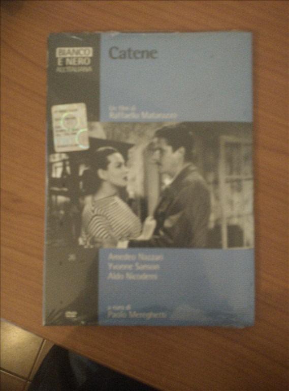 Bianco e Nero all'Italiana - Catene - un film di Raffaello Matarazzo DVD