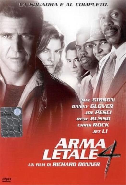 Arma Letale 4 - Mel Gibson - DVD