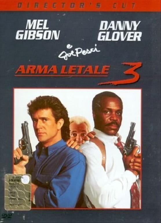 Arma Letale 3 - Mel Gibson - DVD