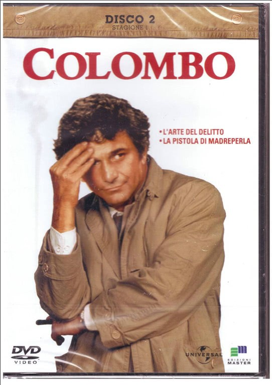 DVD COLOMBO Stagione 1 Disco 2 Tenente Colombo - DVD