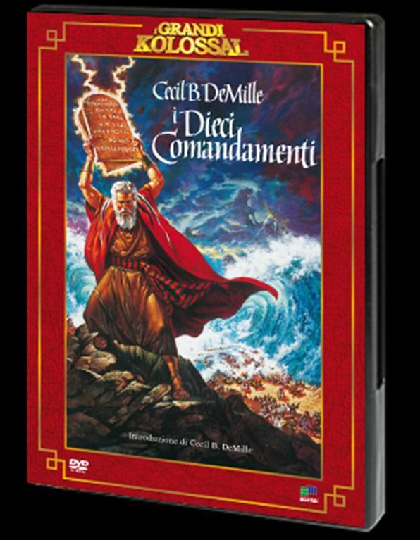 I DIECI COMANDAMENTI - I Grandi Kolossal n.3 DVD