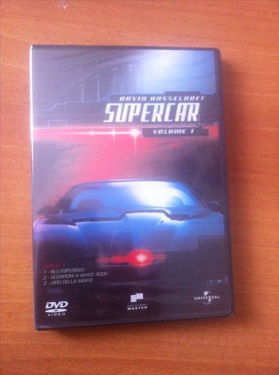 SUPERCAR volume 1 italiano David Hasselhoff - DVD
