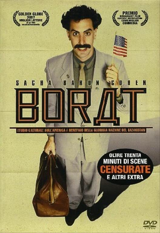 Borat - Sacha Baron Cohen - DVD