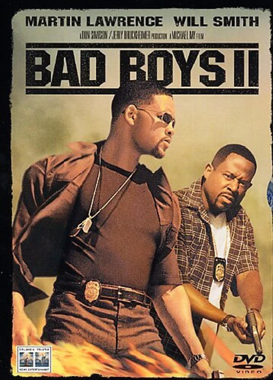 Bad Boys 2 - Will Smith - DVD