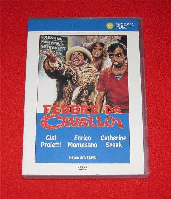 Febbre Da Cavallo - Gigi Proietti - DVD