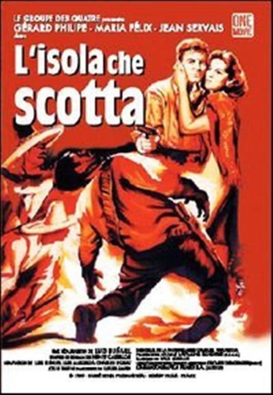 L'Isola Che Scotta - Jean Servais - DVD
