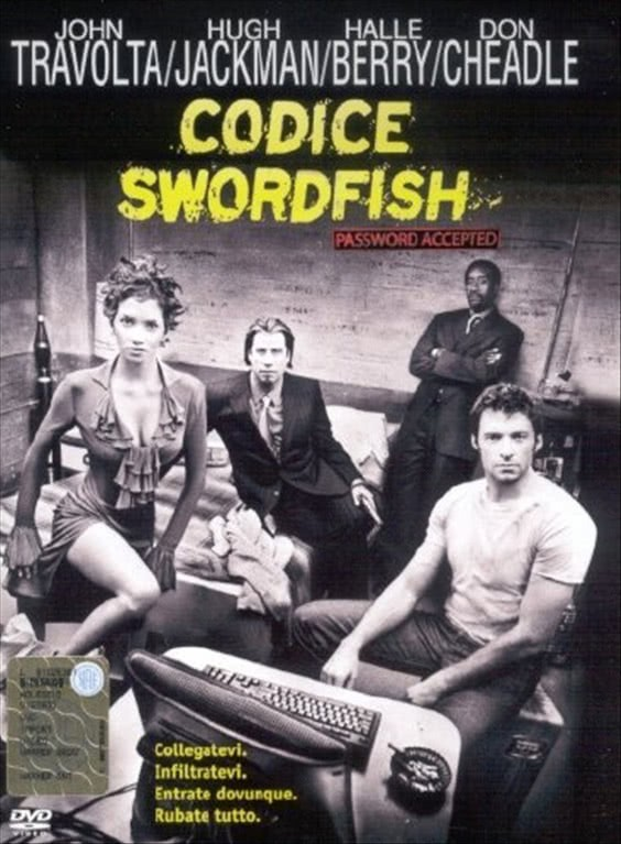 Codice Swordfish - John Travolta - DVD