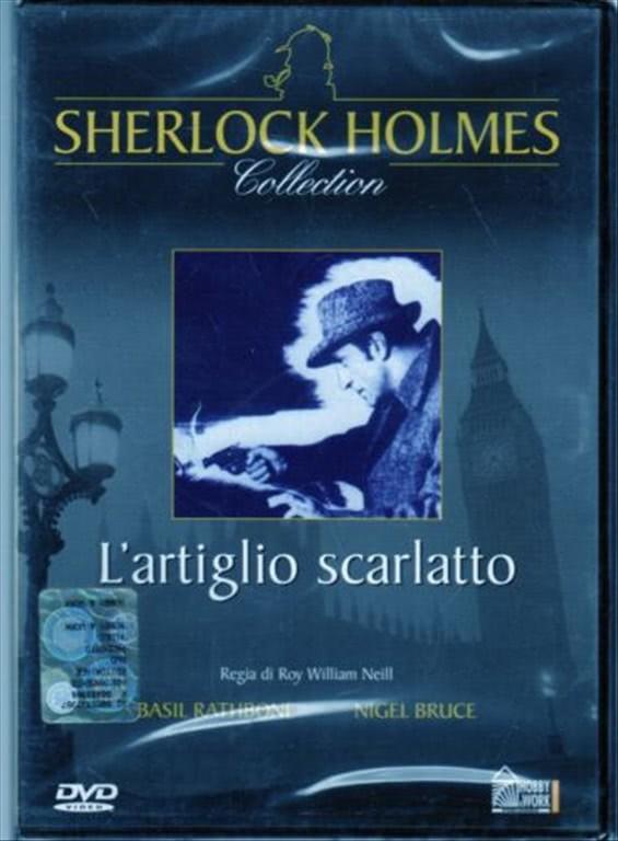 SHERLOCK HOLMES COLLECTION n.4 - L'ARTIGLIO SCARLATTO - DVD