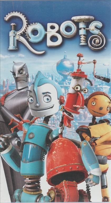 Robots vhs cartoni animati videocassetta edicola shop