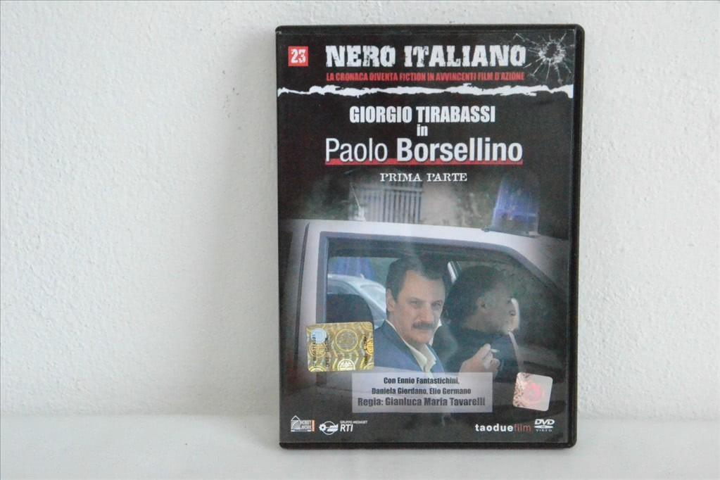Nero Italiano n.23 - Giorgio Tirabassi in Paolo Borsellino (Prima parte)
