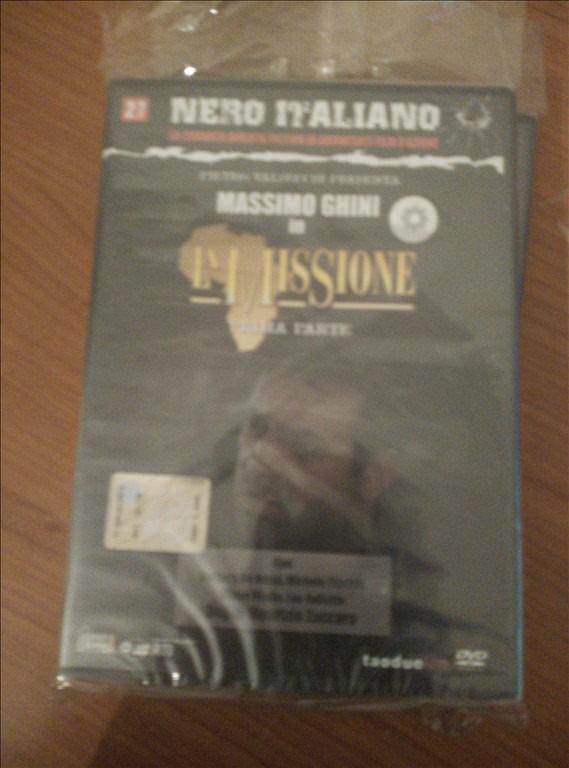 Nero Italiano n.27 -Massimo Ghini in La Missione  (Prima parte)