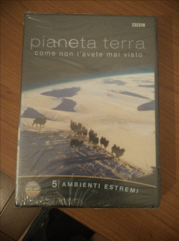 Documentario BBC - Pianeta Terra - Ambienti Estremi - DVD
