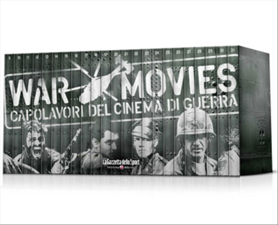 War Movies n.21 - Clint Eastwood - Gunny- DVD Capolavori del cinema di guerra