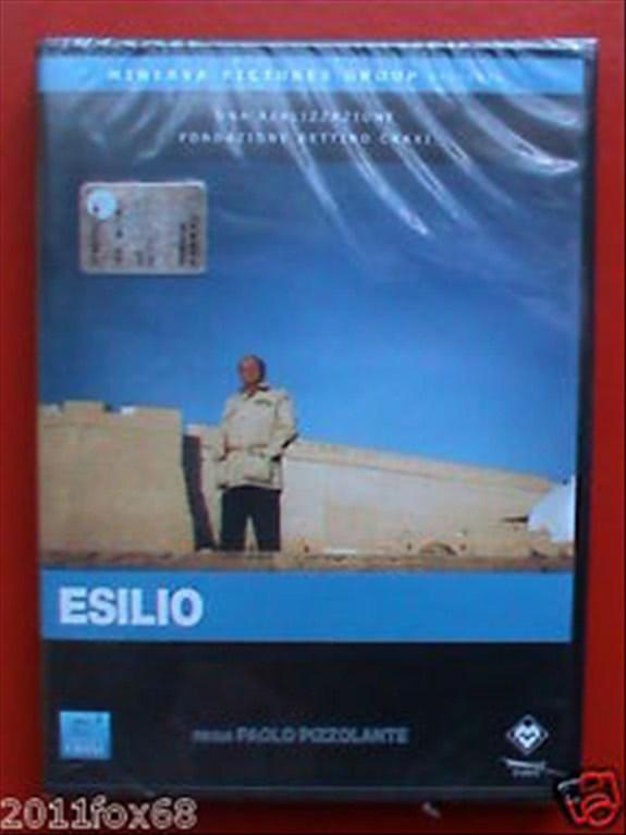 ESILIO (2010) - DVD - Bettino Craxi