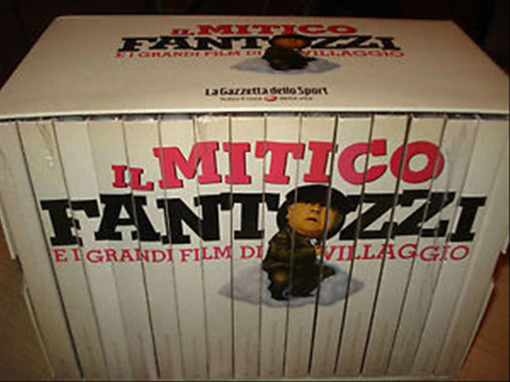 Fantozzi alla riscossa - Fantozzi e i grandi film di Villaggio DVD