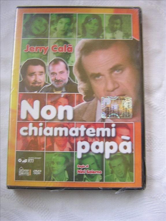 NON CHIAMATEMI PAPA' - DVD - Jerry Calà - sigillato