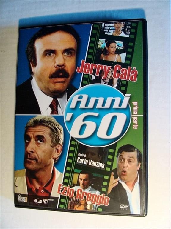 DVD ANNI '60 - PRIMA PARTE (JERRY CALà, EZIO GREGGIO, CARLO VANZINA)