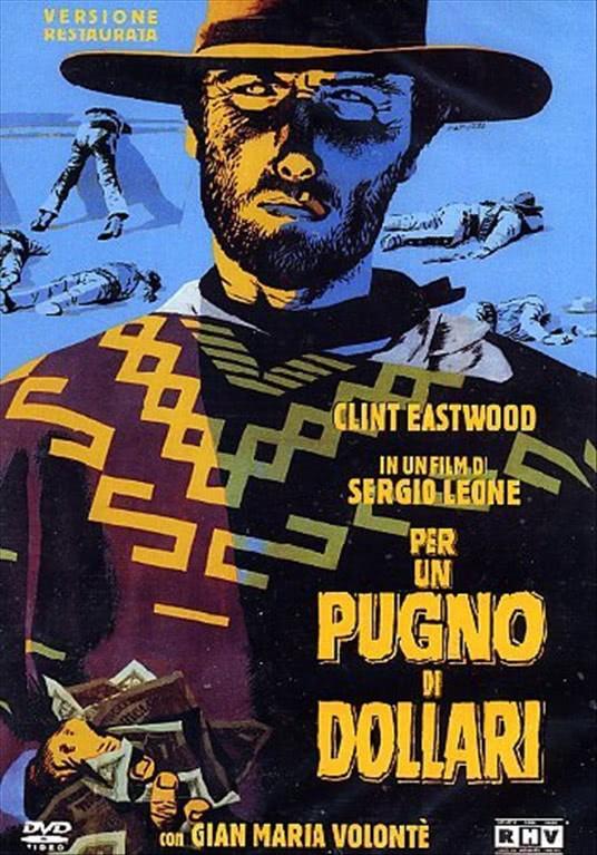 Per Un Pugno Di Dollari - Clint Eastwood - DVD